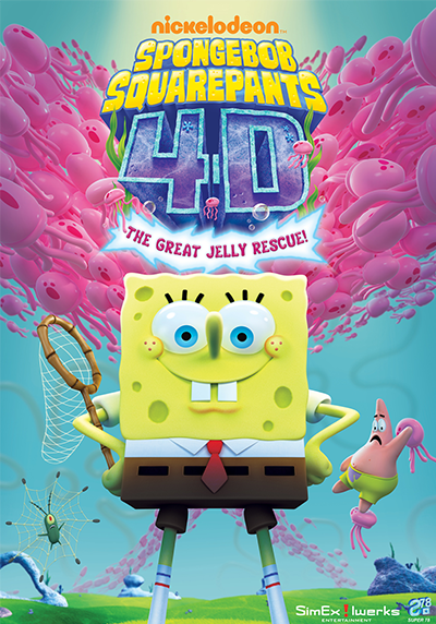 SPONGEBOB 4-D: THE GREAT JELLY RESCUE