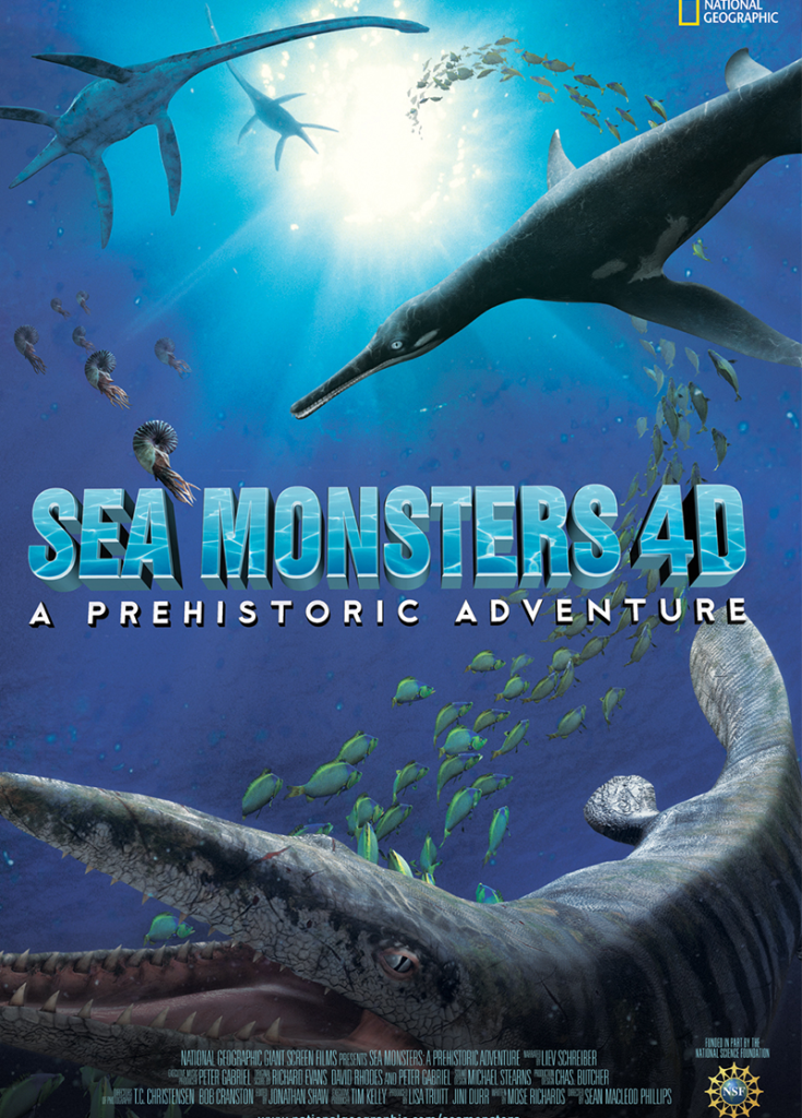 SEA MONSTERS 4-D