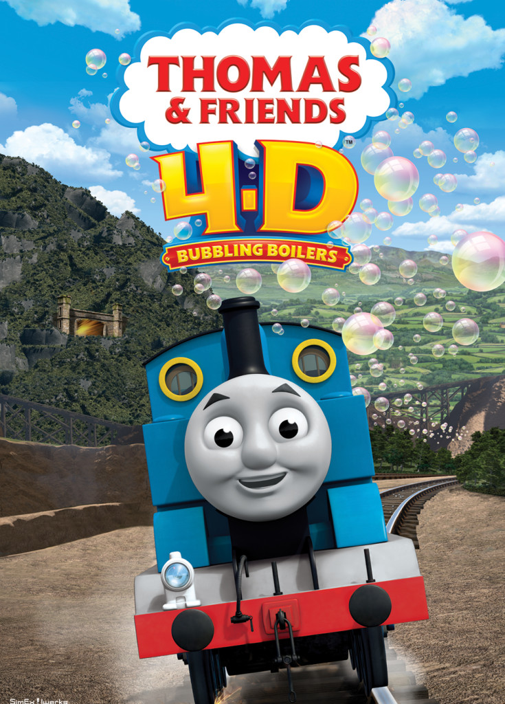 THOMAS AND FRIENDS 4-D BUBBLING BOILERS