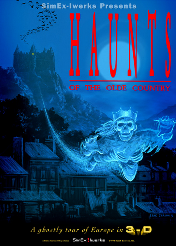 HAUNTS OF THE OLDE COUNTRY