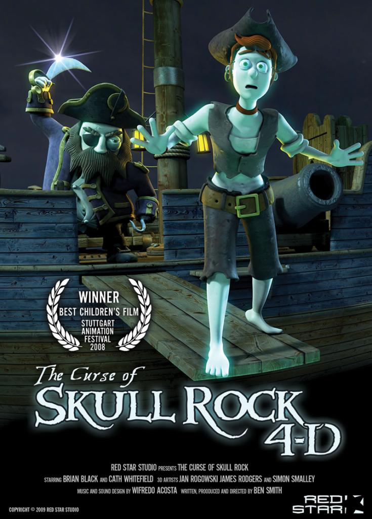 THE CURSE OF SKULL ROCK 4-D