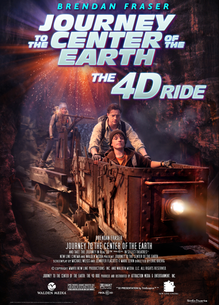 JOURNEY TO THE CENTER OF THE EARTH 4-D