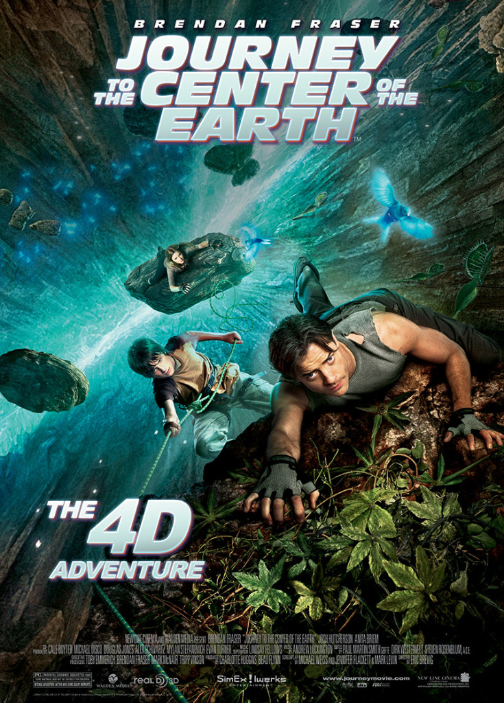 JOURNEY TO THE CENTRE OF THE EARTH THE 4-D ADVENTURE