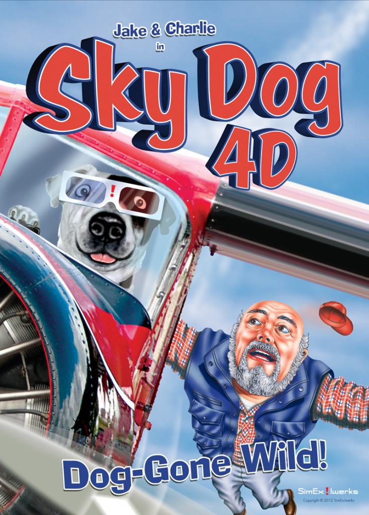 SKY DOG 4-D