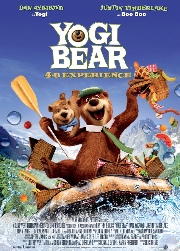 YOGI BEAR 4-D EXPERIENCE