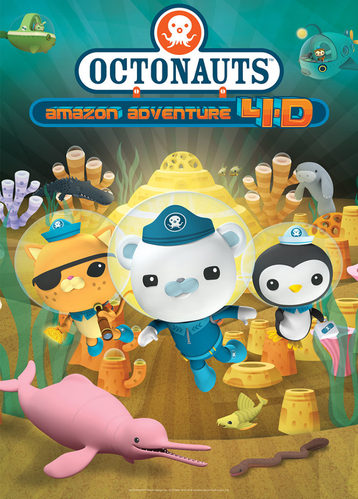 OCTONAUTS: AMAZON ADVENTURE 4-D