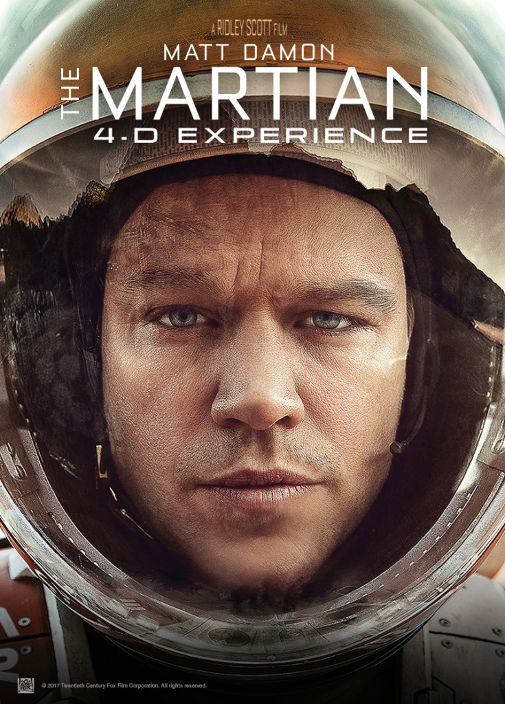 The Martian 4D Experience®