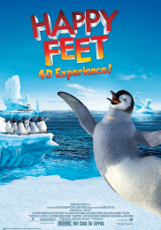 HAPPY FEET 4-D EXPERIENCE!