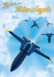 FLY WITH THE BLUE ANGELS